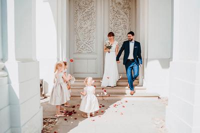 Buon fotografo di matrimonio - Cerimonia - Damigelle