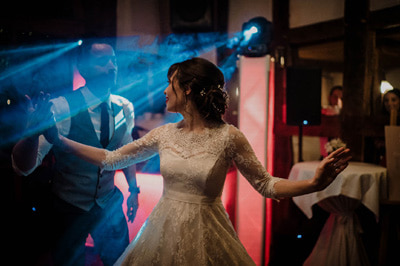 Buon fotografo di matrimonio - ricevimento cerimonia di nozze