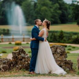 Hochzeitsfotograf_Brautpaar_im_Garten