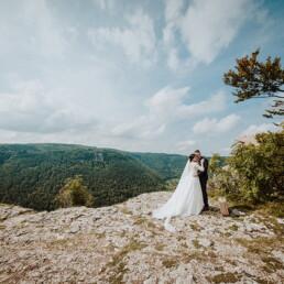 Hochzeitsfotograf_Fotosession_Brautpaar_romantisch_in_Bergen