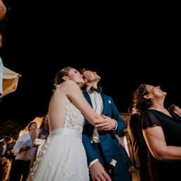 Hochzeitsfotograf_Hochzeitsfeier_Feuerwerk_Brautpaar